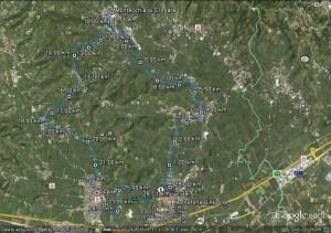 Monteforte 28km 22-01-2012