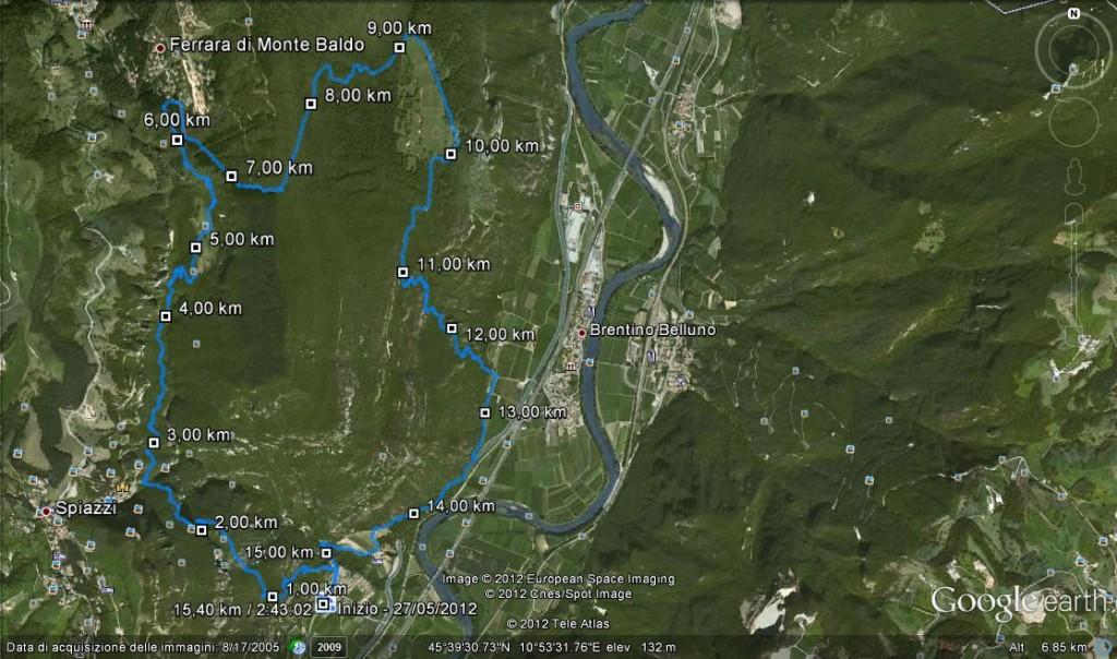 Trail Orsa Brentino Corto 270512