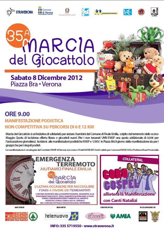 35ª Marcia del Giocattolo - Verona @ Verona | Veneto | Italia