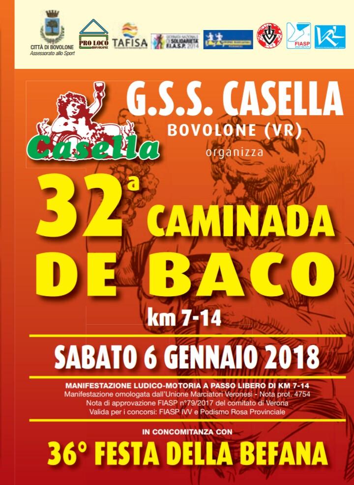32ª Caminada de Baco - Bovolone (VR) @ Bovolone | Veneto | Italia