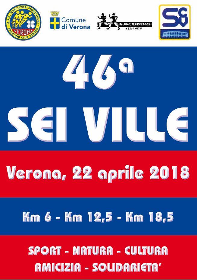 Unione Marciatori Veronesi Calendario.46ª Sei Ville Verona